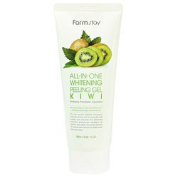 Farmstay пилинг All-In-One Whitening Peeling Gel Kiwi