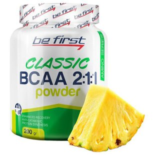 BCAA Be First BCAA 2:1:1 Classic Powder (200 г)