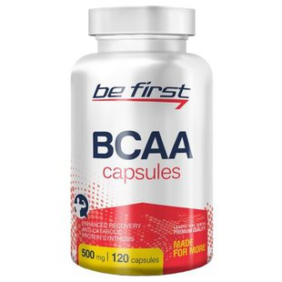 BCAA Be First BCAA Capsules (120 шт.)