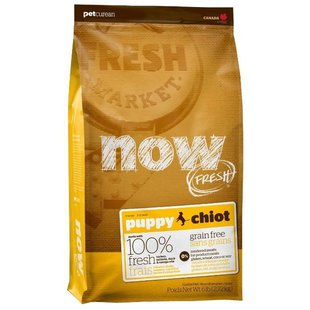 NOW FRESH Grain Free Puppy Dog Food Recipe (11.35 кг)