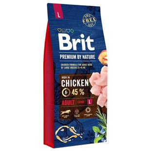 Корм для собак Brit Premium by Nature Adult L
