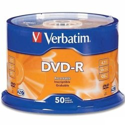 Диск DVD-R Verbatim 4.7Gb 16x Data Life (50 шт) (43791)