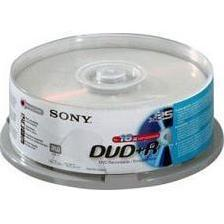 Диск DVD+R Sony 4.7Gb 16x Cake Box (25DPR120AS4) (25 шт)