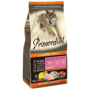 Корм для собак Primordial Grain Free Puppy Chicken and Fish
