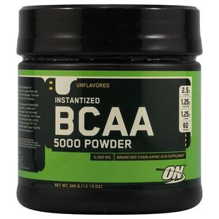 BCAA Optimum Nutrition BCAA 5000 Powder (345 г)