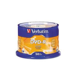 Диск DVD-R Verbatim 4.7Gb 16x Cake Box Printable (50шт) (43755)